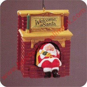 1990 Welcome Santa - w/Fun movement!