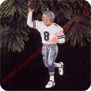 1996 Football Legends #2  Troy Aikman, Dallas Cowboys 1996 Hallmark Keepsake Series Ornament   (Scroll down for additional details)
