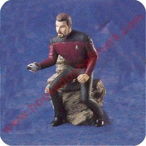 1996 Commander William T Riker, Star Trek - SDB