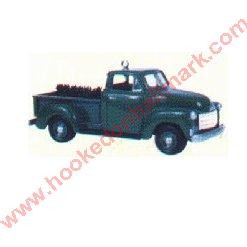 "<font face=""arial"" size=""2""><b>1997 All American Truck Colorway</b><br>1997 Hallmark Colorway Ornament <br><i> (Scroll down for additional details) </i> </font>"
