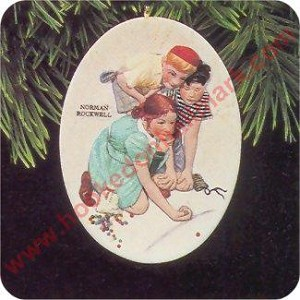 1997 Marbles Champion - Norman Rockwell