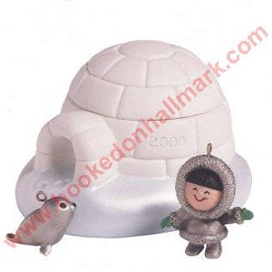 2000 Frosty Friends Igloo - 4 piece set