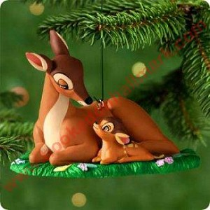 "<font face=""arial"" size=""2""><b>2000 Newborn Prince - Bambi</b><br>2000 Hallmark Keepsake Disney Ornament <br><i> (Scroll down for additional details) </i> </font>"