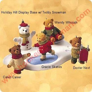 2002 Snow Cub Club, Hollyday Hill - set of 2