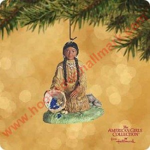 "<font face=""arial"" size=""2""><b>2002 Kaya - American Girls Collection</b><br>2002 Hallmark Keepsake Ornament <br><i> (Scroll down for additional details) </i> </font>"