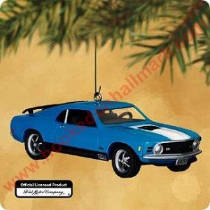 2002 Classic Am Cars #12 - 1970 Ford Mach 1 Mustang