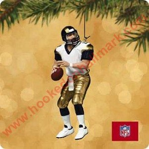 "<font face=""arial"" size=""2""><b>2002 Football Legends #8 <br>Kurt Warner, St Louis Rams </b><br>2002 Hallmark Keepsake Series Ornament <br><i> (Scroll down for additional details) </i> </font>"