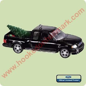 "<font face=""arial"" size=""2""><b>2004 All American Truck #10 - 2000 Ford F-150</b><br>2004 Hallmark Keepsake Series Ornament <br><i> (Scroll down for additional details) </i> </font>"