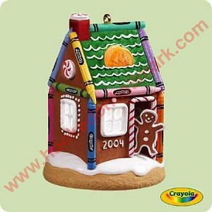 2004 Gingerbread Home - Crayola