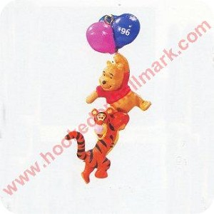 1996 Winnie the Pooh and Tigger - Miniature