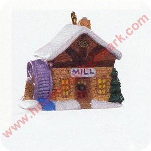 1996 Old English Village #9 - Village Mill - Miniature