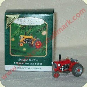 2001 Antique Tractors REPAINT - MINIATURE