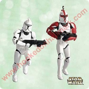 2003 Clone Troopers, Star Wars - Miniature