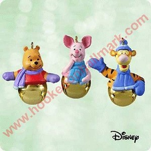 2003 Ring a ling Pals - Winnie the Pooh MINIATURE set of 3