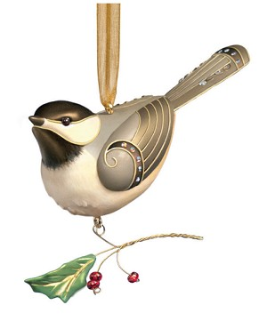 2006 Beauty of Birds #2 - Black Capped Chickadee 2006 Hallmark Keepsake Series Ornament  (Scroll down for additional details)