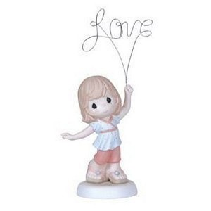 Love You Above All, Girl - Figurine Precious Moments