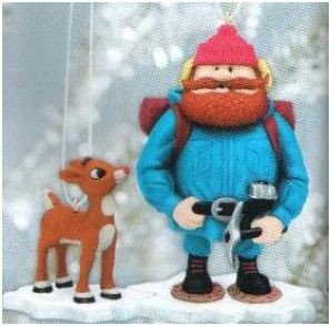 2007 Yukon Cornelius and Rudolph - DB