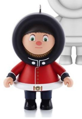 2013 Frosty Friends Mystery Ornament - Queen's Guard England