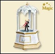 2007 Hallmark Ornament <br>Treasures and Dreams #6 Final in Series <br>Waltzing on Air