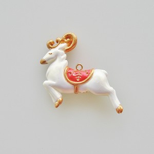 2012 Elegant Reindeer, Local Club Gift - MINIATURE