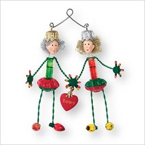 2007 sister connection hallmark christmas ornament at hooked on