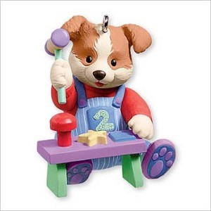 2007 Babys Second Christmas Hallmark Christmas Ornament at Hooked on ...