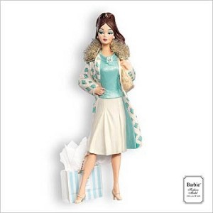 2007 Hallmark Ornament <br>Continental Holiday Barbie
