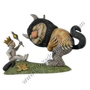 "<font face=""arial"" size=""2""><b>2008 Where the Wild Things Are </b><br>2008 Hallmark Keepsake Ornament <br><i> (Scroll down for additional details) </i> </font>"