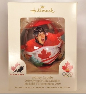2010 Sidney Crosby Ball, Olympic Gold Medallist - Canadian Exclusive!