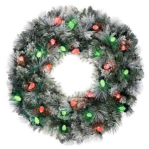 "2020 Sound-a-Light 24"" WREATH - INTERACTIVE MUSIC/LIGHT  - Ships OCT 3"