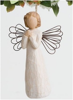 Willow Tree ANGEL OF WISHES - Ornament