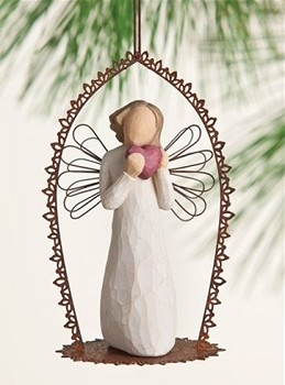 Willow Tree ANGEL OF THE HEART - Trellis Ornament